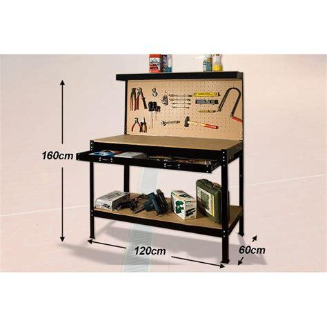 Rangement Atelier Palette by 201 Tabli D Atelier Avec Panneau 224 Outils Construction En