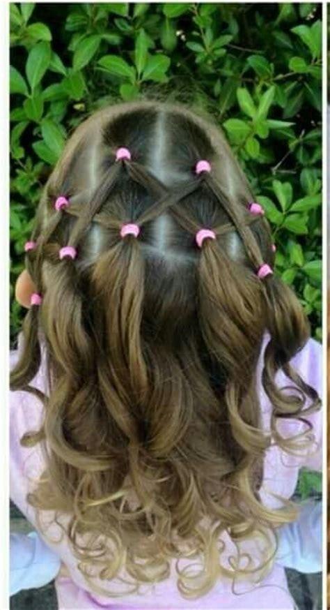 criss cross hair part hair parting techniques for zigzag m 225 s de 17 ideas fant 225 sticas sobre peinados de ni 241 as en