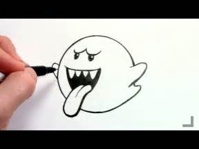 boo mario drawing let s draw boo