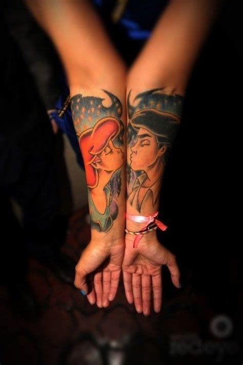 tattoo couple kissing 10 couple tattoos that are super cute couples