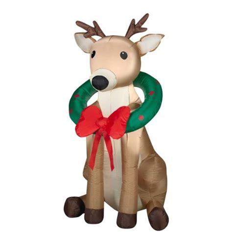 outdoor reindeer christmas decorations home