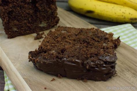 schoko kuchen schnell schneller schoko bananenkuchen aus der kastenform katha