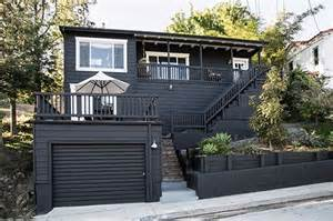Black And White Paint House Paint It Black Sfgirlbybay Exterior Paint Colors