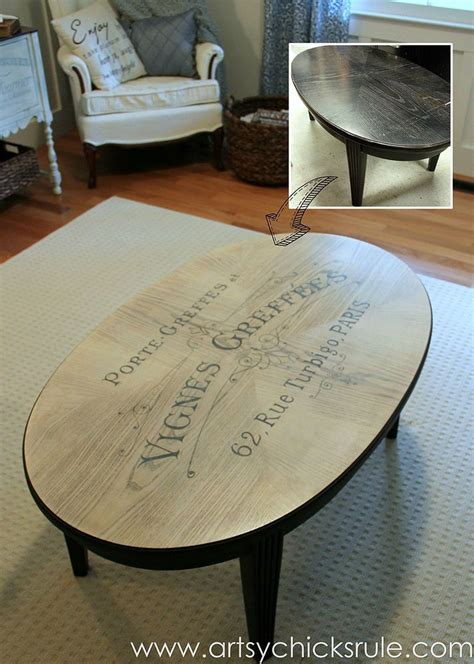 chalk paint table top 25 best ideas about coffee table makeover on