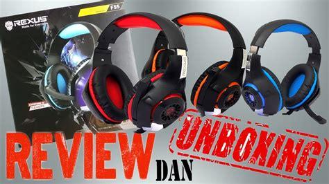Rexus Headset Gaming Vonix F55 headset murah rexus vonix f55 review unboxing
