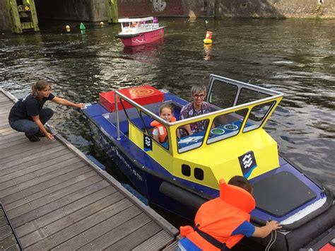 bootje maken dat kan varen kids marina in rotterdam zelf met een bootje varen in de