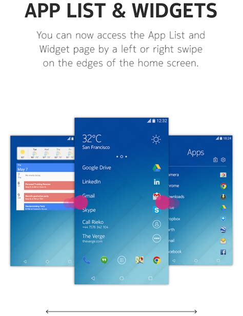 update widget layout android z launcher update adds support for android widgets