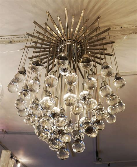Whimsical Chandeliers Whimsical And Italian Zeroquattro Flush Mount Chandelier At 1stdibs