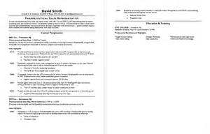 Pharmaceutical Sales Rep Resume Exles by Pharmaceutical Sales Resume Sle