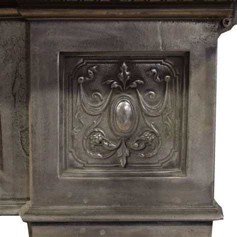 Iron Fireplace Mantel by Cast Iron Fireplace Mantel For Sale At 1stdibs