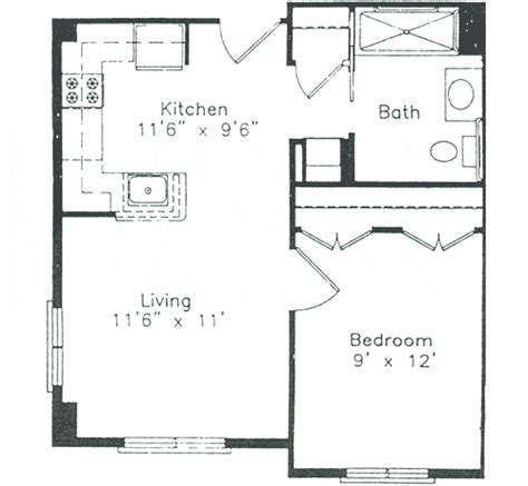 high resolution small one bedroom house plans 7 small one