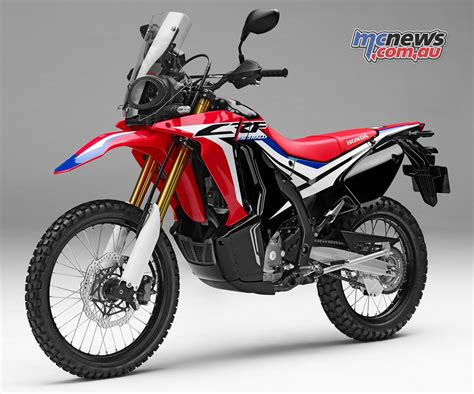 honda crf 250 honda crf 250 rally 7299 due march 2017 mcnews au