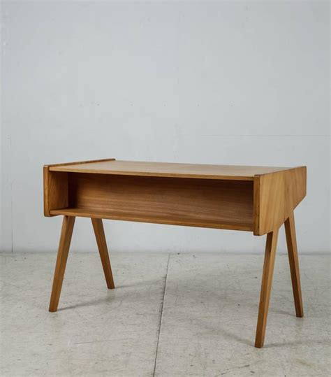 Small Wooden Writing Desk Helmut Magg Small Wooden Writing Desk Germany 1950s At 1stdibs