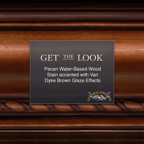 Black Dimension Water Base Color Glazing get the look pecan water based wood stain with brown glaze effects general finishes