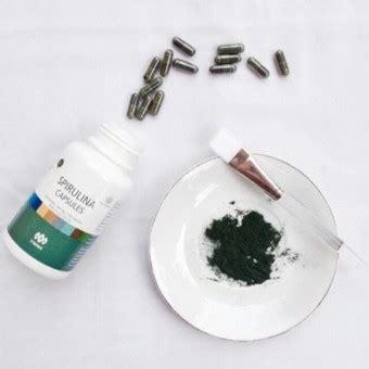 Jual Masker Wajah Herbal jual masker wajah spirulina herbal tiens 10 kapsul obat