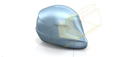 helmet design in solidworks product