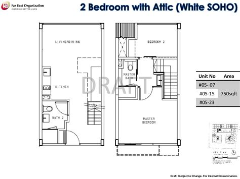 house with attic floor plan 2 bedroom bijou pasir panjang
