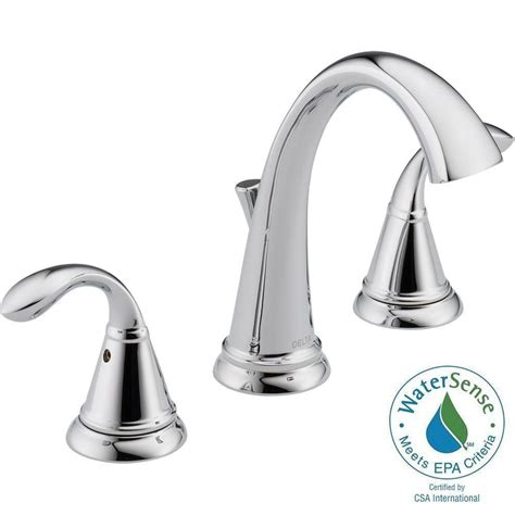 8 widespread bathroom faucet delta zella 8 in widespread 2 handle bathroom faucet in