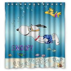 Snoopy Shower Curtain Snoopy And Woodstock Shower Curtain Snoopn4pnuts Com
