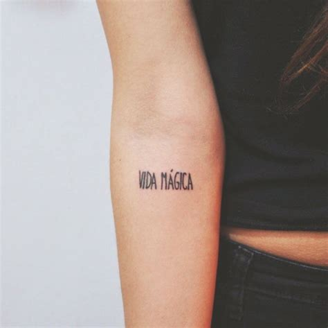 spanish quotes tattoos ideas  pinterest