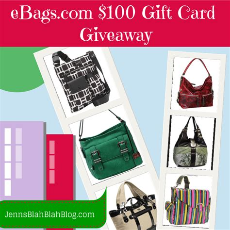 Ebags Gift Card - enter to win a 50 gift card to emilie m handbags