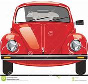 Red Beetle Front Stock Illustration Of Auto