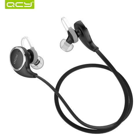 Jogger Sport Bluetooth Earphone With Microphone Qy8 qcy qy8 wireless bluetooth 4 1 headphone with microphone stereo studio noise cancelling