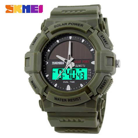Jam Tangan Shark Digital Led Date Day Big White Quartz Army Wrist 2017 new solid watches clock resin atomic solar sports 2 time zone digital led quartz