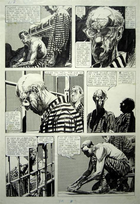 mort cinder mort cinder the prison of blue dove pg 5 comic art inkwork comic storyboard