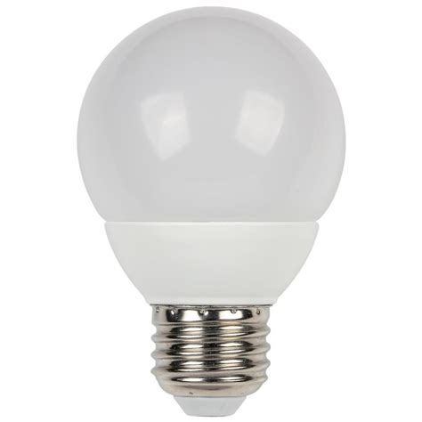 Ge 60 Watt Incandescent G40 Globe Soft White Light Bulb Led Light Bulb