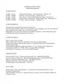 Clerk Resume Sles by Records Clerk Resume Sle Template Design