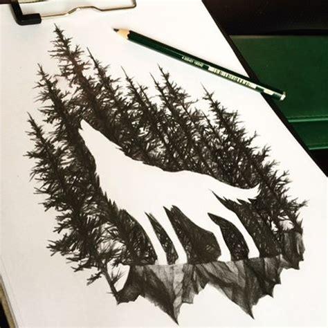 tattoo back forest best 25 wolf tattoos ideas on pinterest forest tattoo