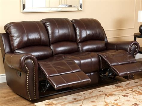 Roosevelt Leather Sofa Recliner
