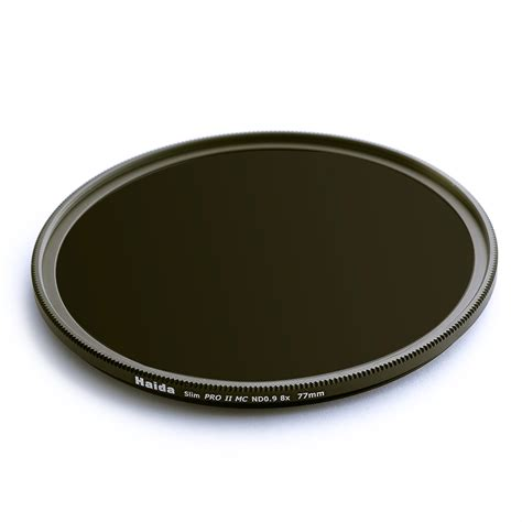 Haida Filter 100 Series Nd 09 haida slim proii mc nd 0 9 8x 3 stops grijsfilter 77mm