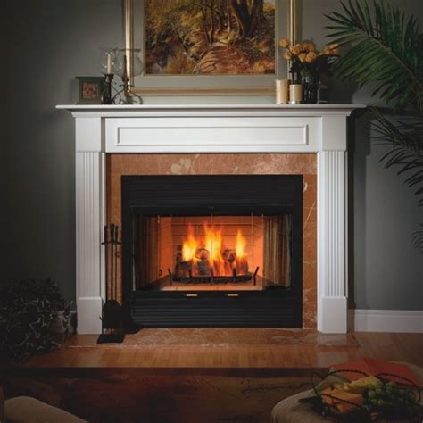 Wood Burning Fireplace Heat by Majestic Sc42 42 Quot Sovereign Heat Circulating Wood Burning