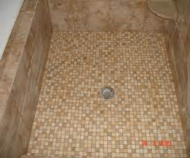 dusche bodengleich shower floor tile casual cottage