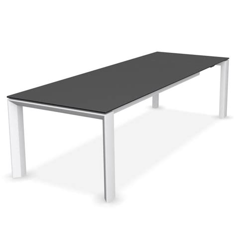 calligaris glass dining table calligaris omnia glass extending dining table grey top