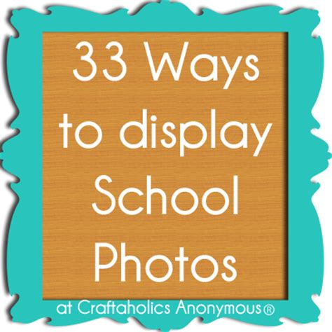 creative ways to display photos without frames craftaholics anonymous 174 33 ideas to display school photos