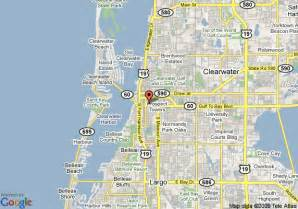 map of residence inn clearwater downtown clearwater