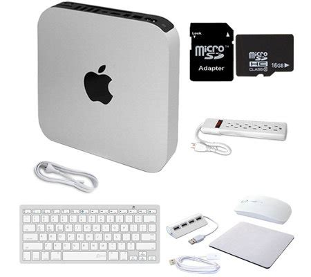 Apple Mac Mini Mgem2id A 4gb I5 apple mac mini intel i5 4gb ram 500gb hdd qvc