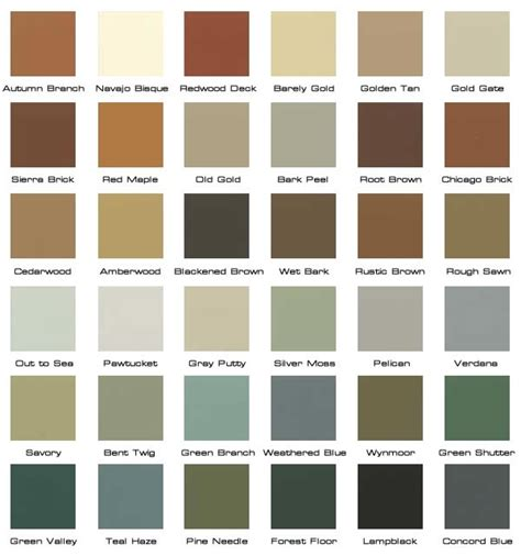 rustic paint colors home