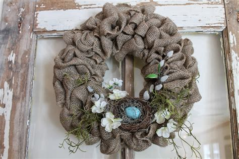 how to make a wreath with burlap 10 spring wreath tutorials
