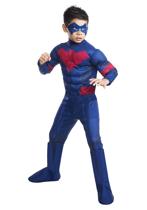 costumes for child deluxe nightwing costume