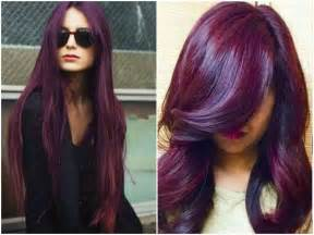 burgundy hair color dye plum burgundy hair dye brown hairs