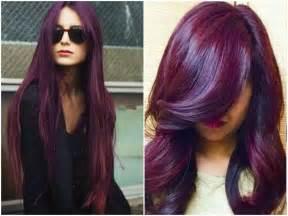 burgundy purple hair color 60 burgundy hair color ideas maroon purple plum