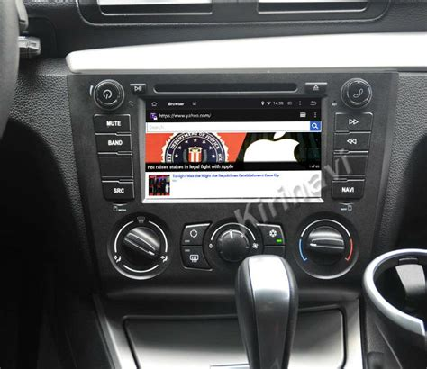 Bmw 1 Series E87 Stereo Upgrade by Kirinavi Wc Bw7205 Android 4 4 5 1 Touch Screen Car Dvd