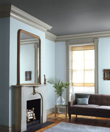 wall and trim color combinations the storm colored ceiling and light grey trim takes this