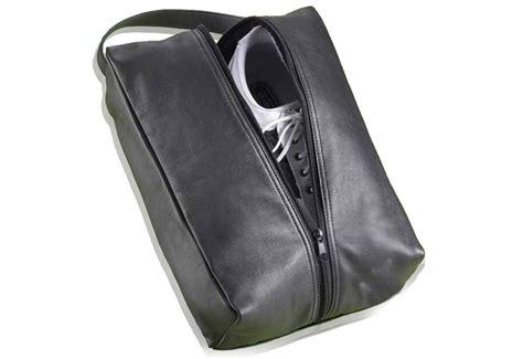 leather golf shoe bag golf shoes