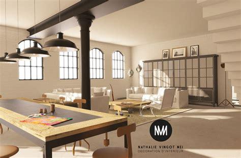 Modern Art Deco Interior by D 233 Coration Et Am 233 Nagement De Loft Provence Paca