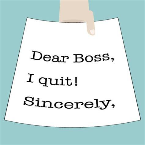 Resignation Letter Retaliation Quit Resign